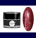 Glitter gel polish №5925 Red Tourmaline