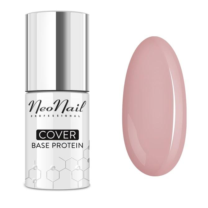 Базовое покрытие Камуфлирующее Cover Base Protein Natural Nude NeoNail 7,2мл 7034-7